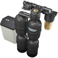 Kinetico Premier Series Q850 Water Softener with Brine Tank